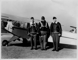 On the far left, my dad, Ralph H. Stanton,