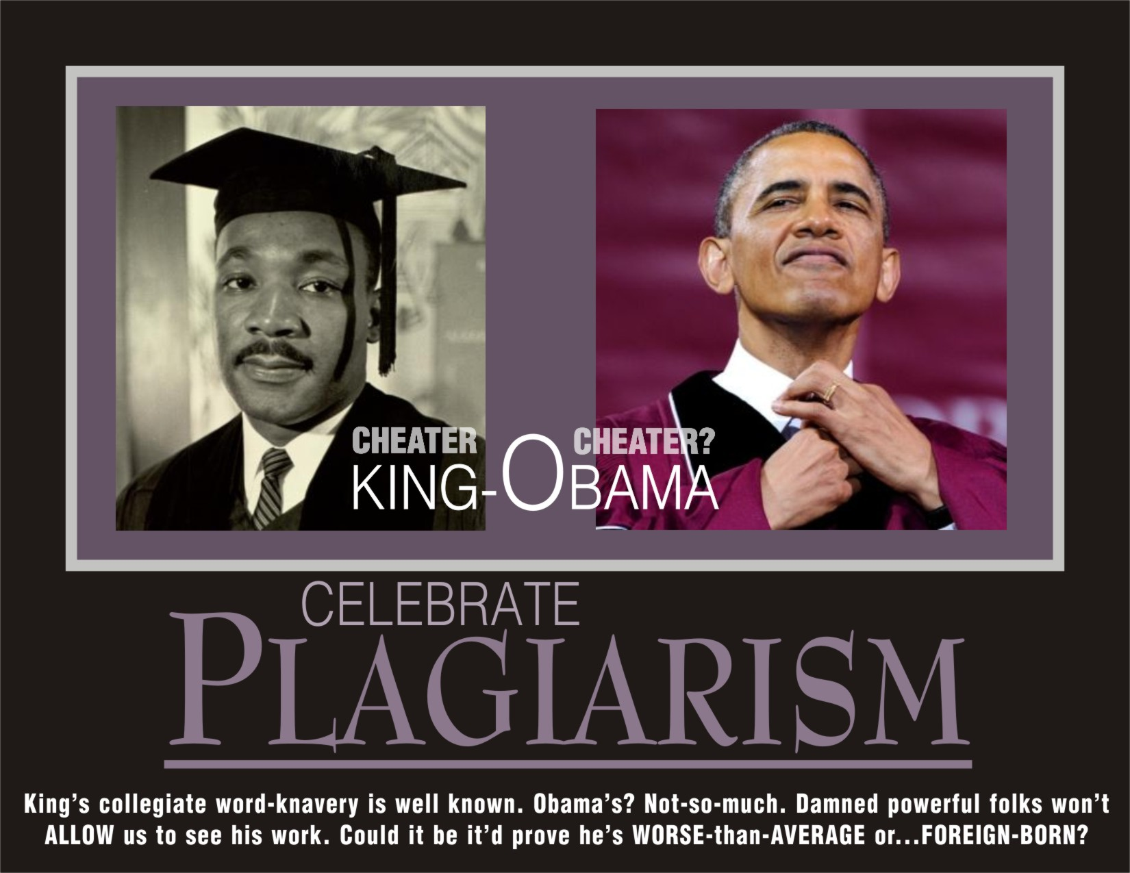 martin luther king plagiarism thesis